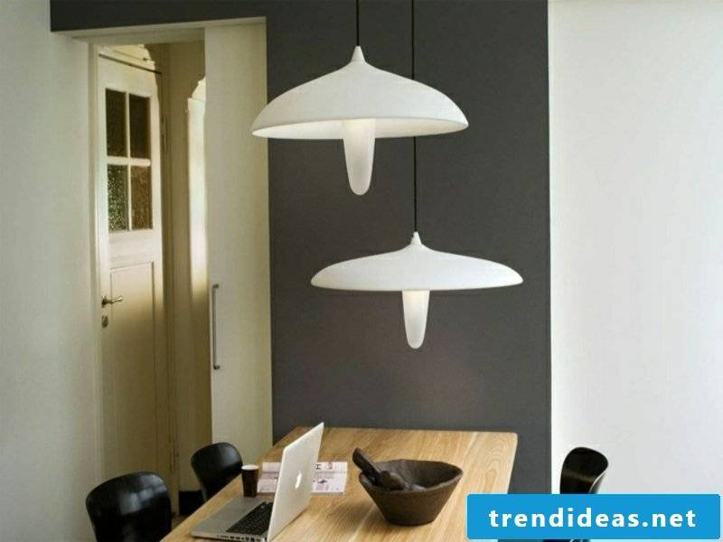 original idea for dining room lamps