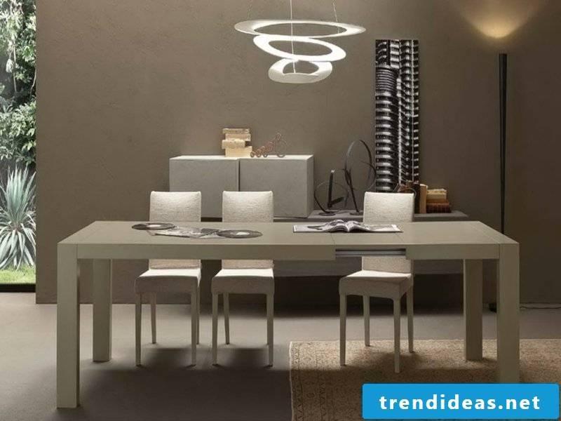 ultramodern dinette lamp modern modern dining room lamps in chrome colors