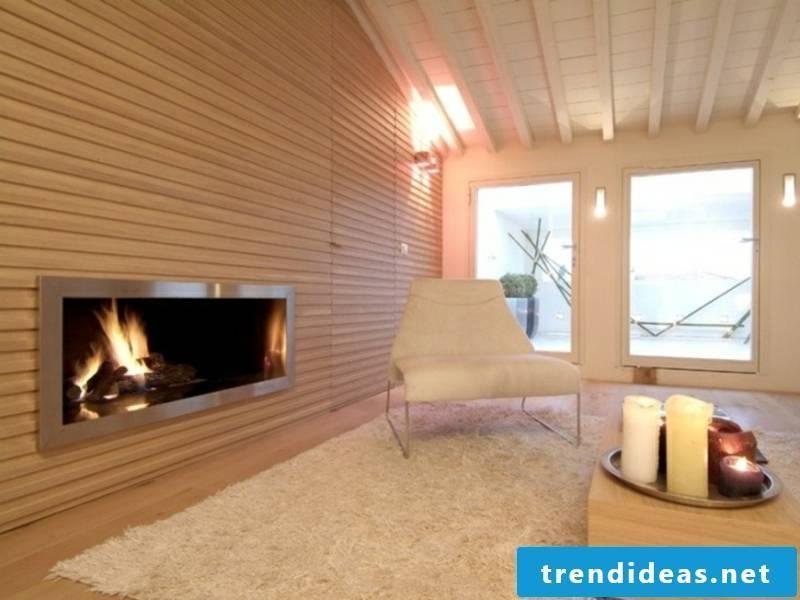 extremely minimalist fireplace