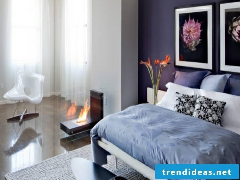 Kleier nice fireplace in the bedroom
