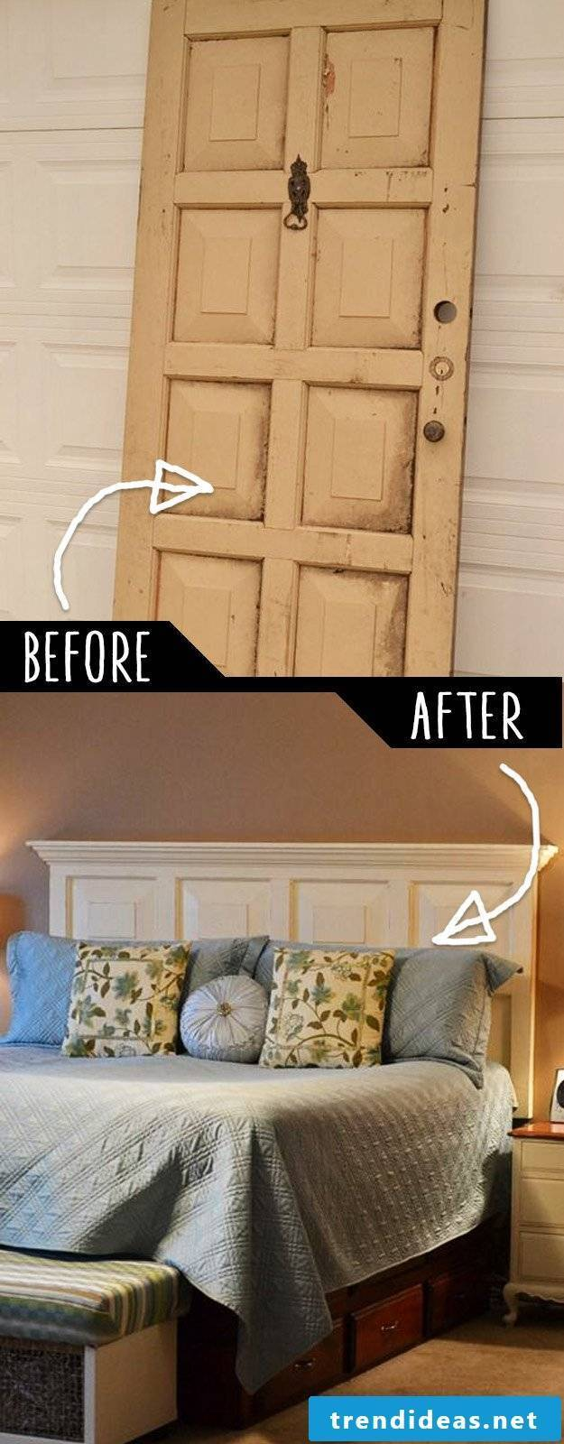 Do it yourself hacks with an old door