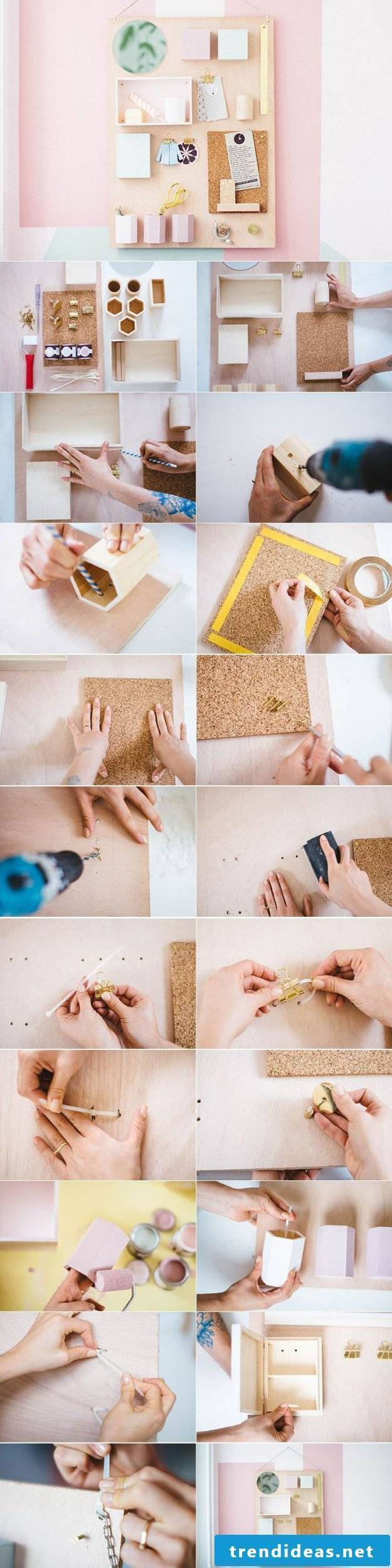 Do it yourself Memoboard yourself