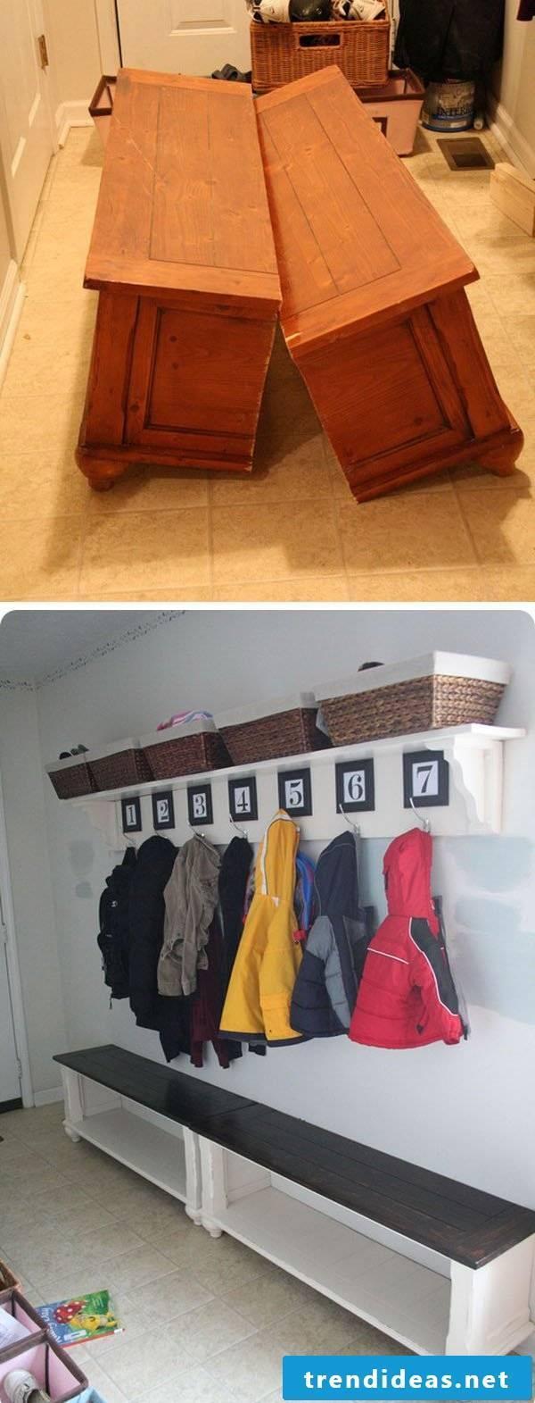DIY ideas for the corridor