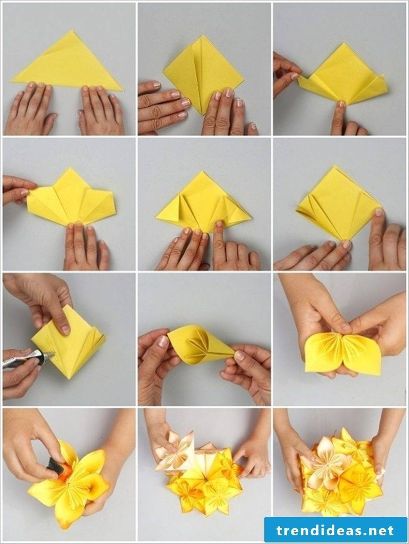 Making Origami Flower: Creative Idea for Mother's Day