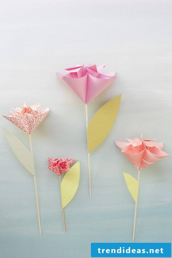 Origami Flower Instructions - the best DIY gift for any occasion