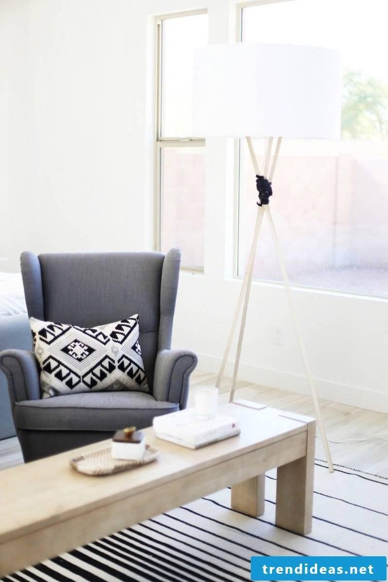 Design Living Room: Combine living room furniture with decoration