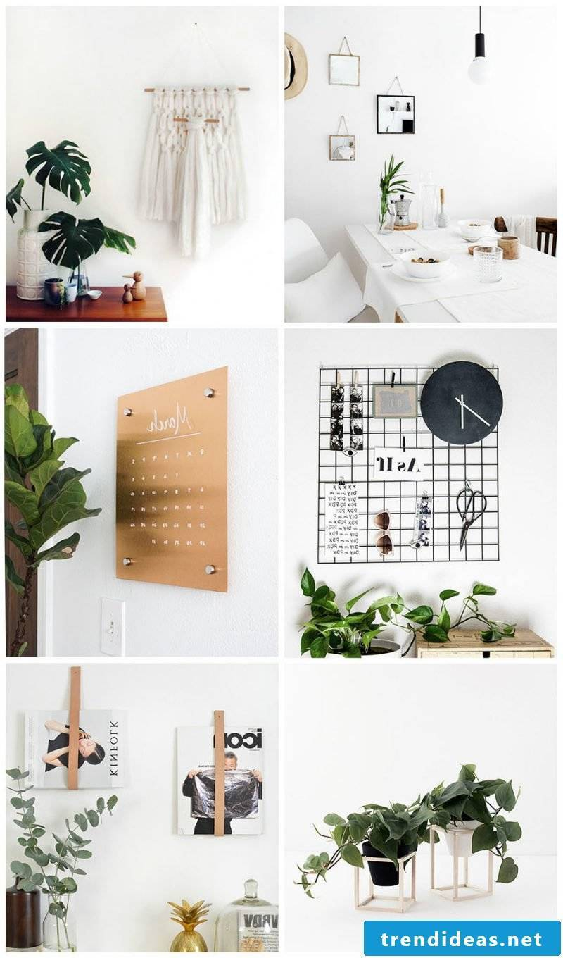 Living ideas modern decorate living room: wall decoration