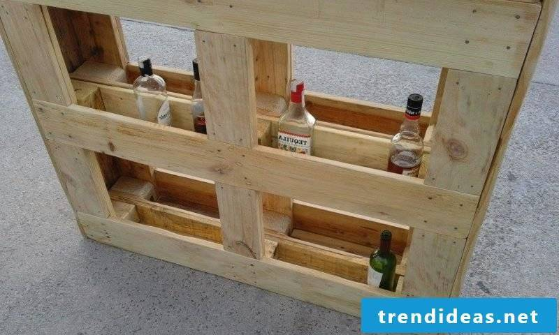 Bar counter range for drinks