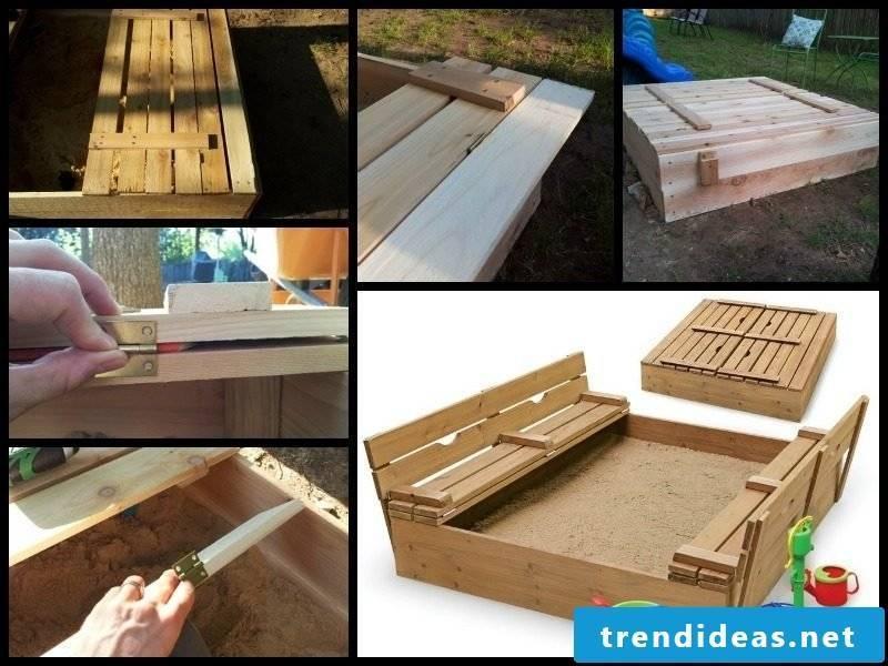 Sandbox build DIY