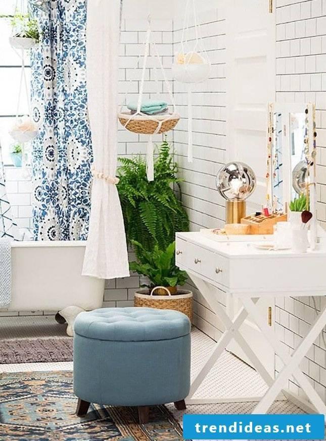 modern bathroom ideas furniture stool blue bathroom ideas