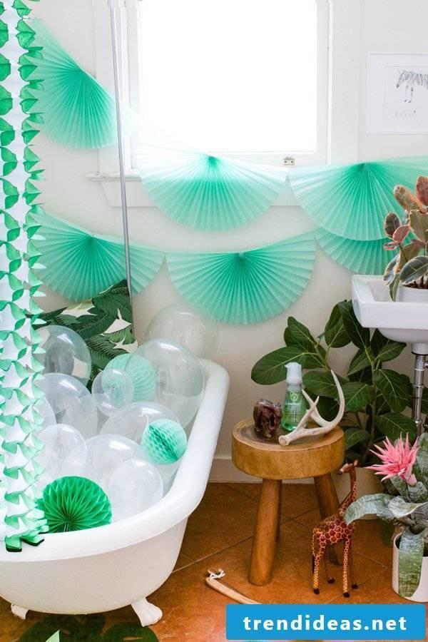 exotic bathroom ideas green bathtub