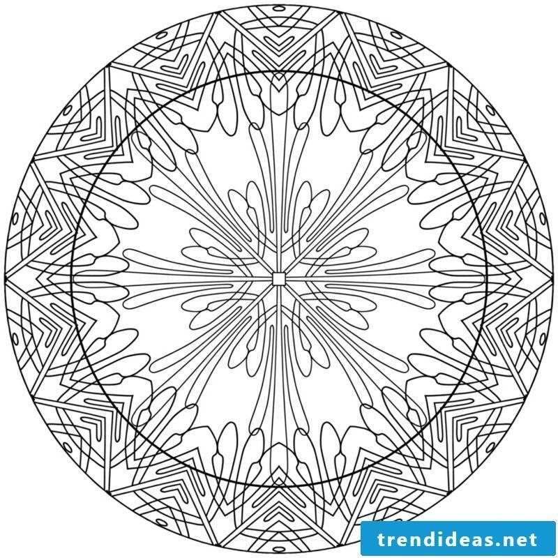 Mandala templates intuitive