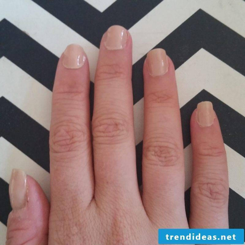 Nail Design French Tutorial Step 1