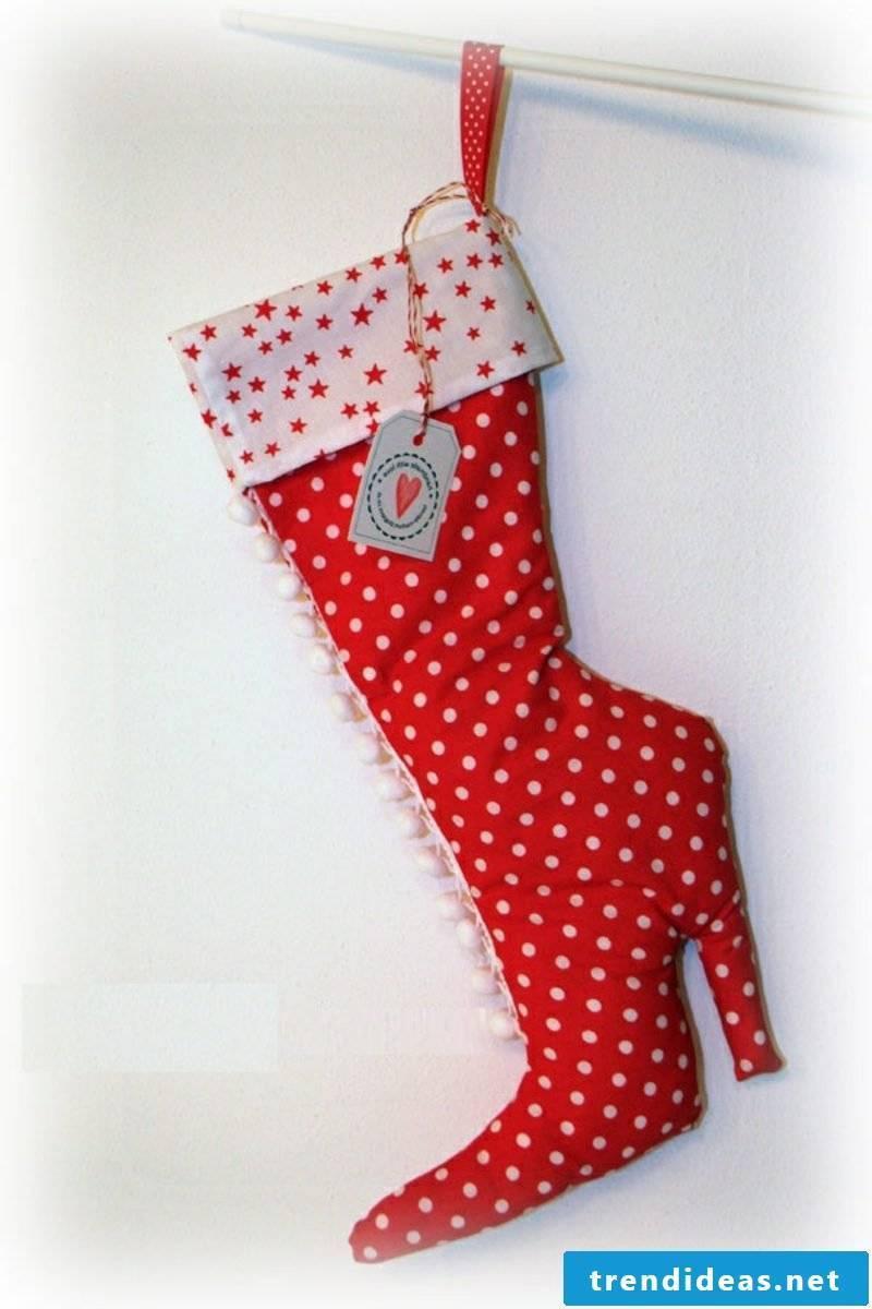 Sew Nicholas boots