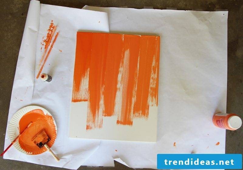 Paint your own pictures DIY Acrylic