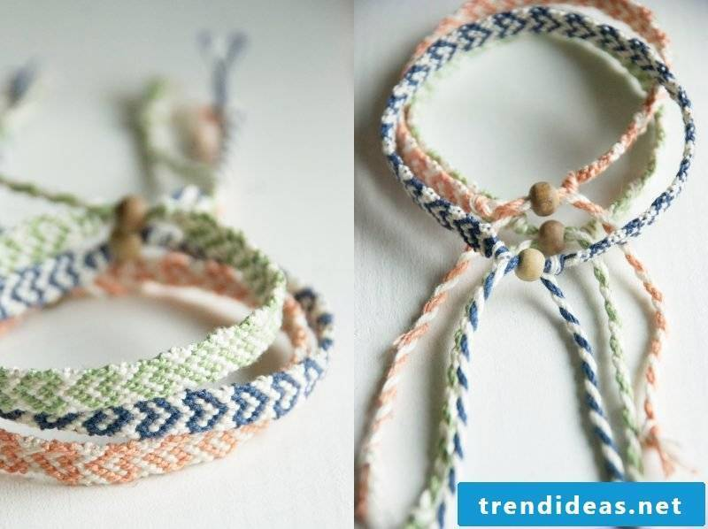 DIY bracelet heart