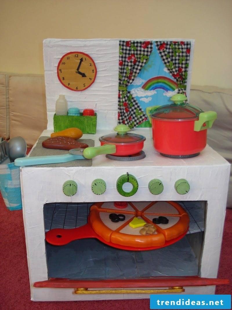Build ideas for children's kitchen yourself