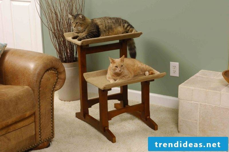 Cat furniture DIY idea