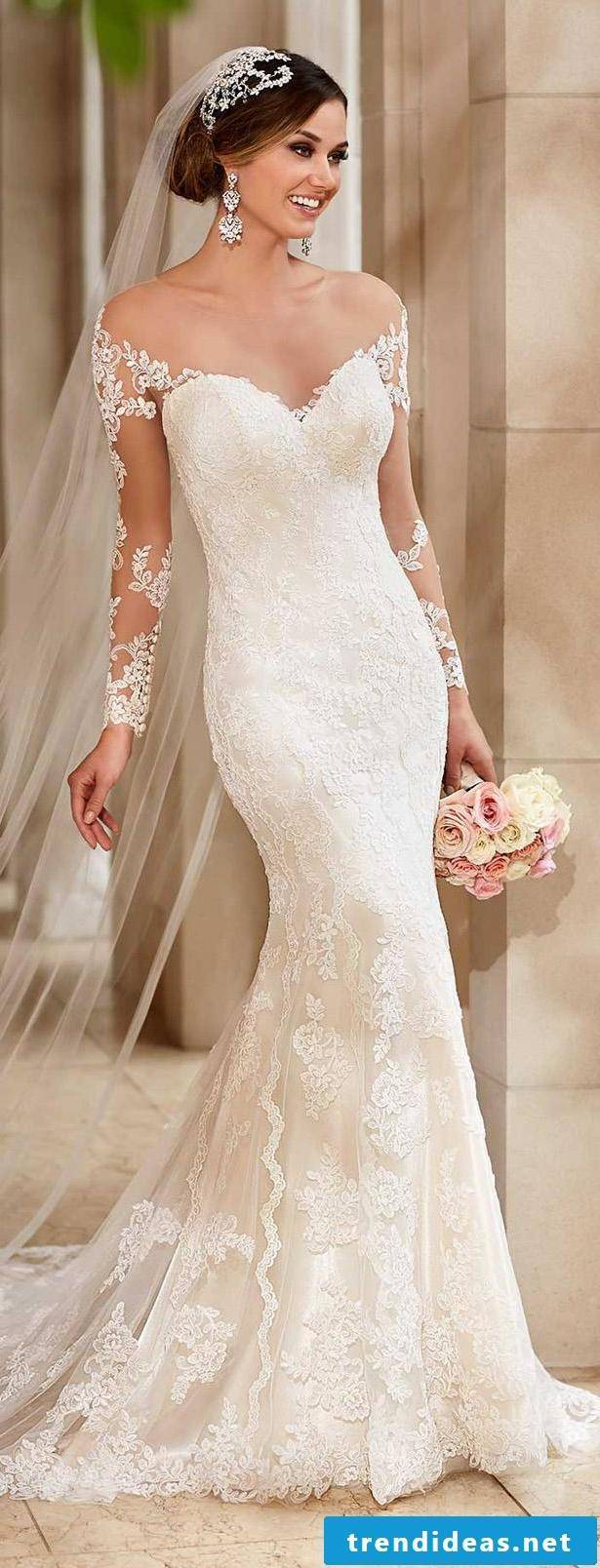 Mermaid wedding dress - with our tips you will find the dress for your figure
