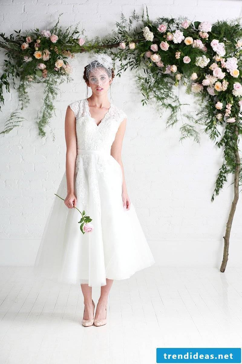 Short wedding dress - what should we know