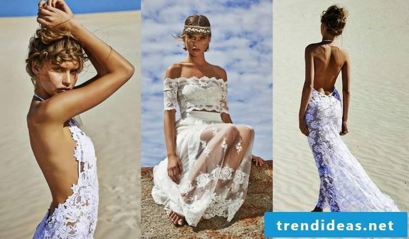 Wedding dresses boho style