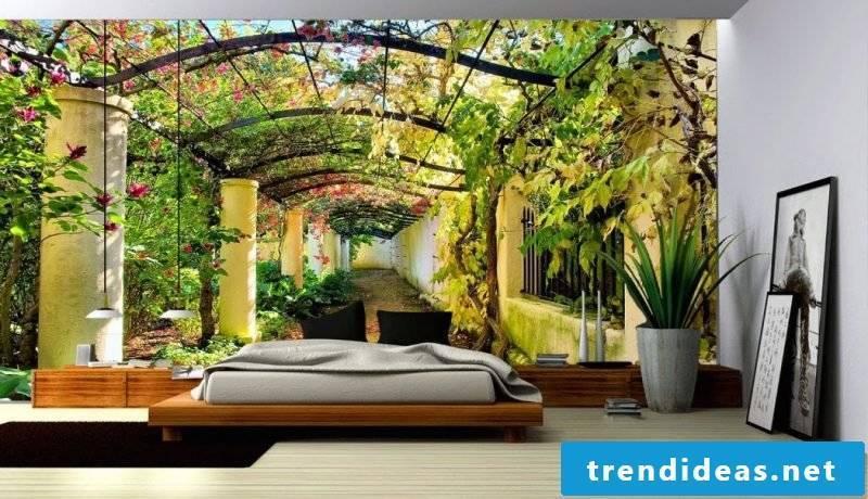 walls design ideas bedroom wall wallpaper