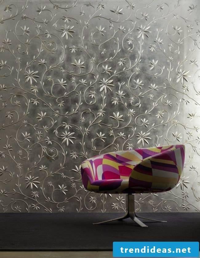 wall design ideas walls fashion flowers