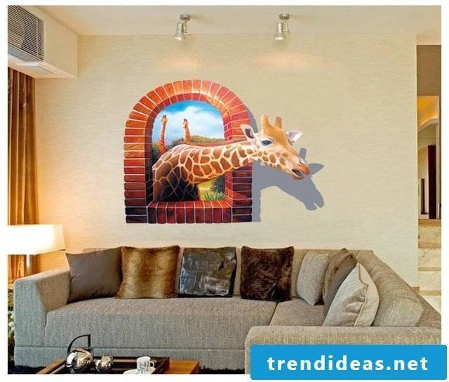 wall design living room ideas 3d wall art
