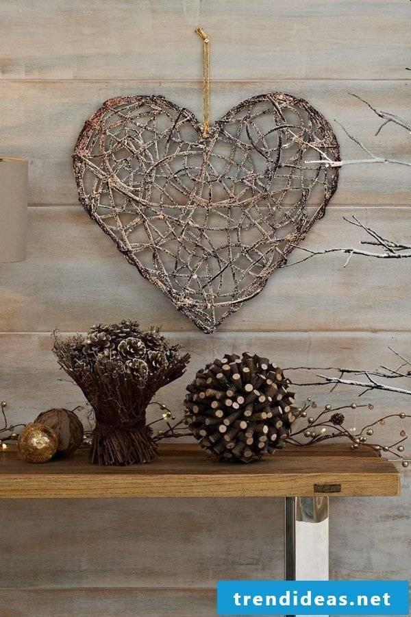 walls design heart motifs ideas accessories
