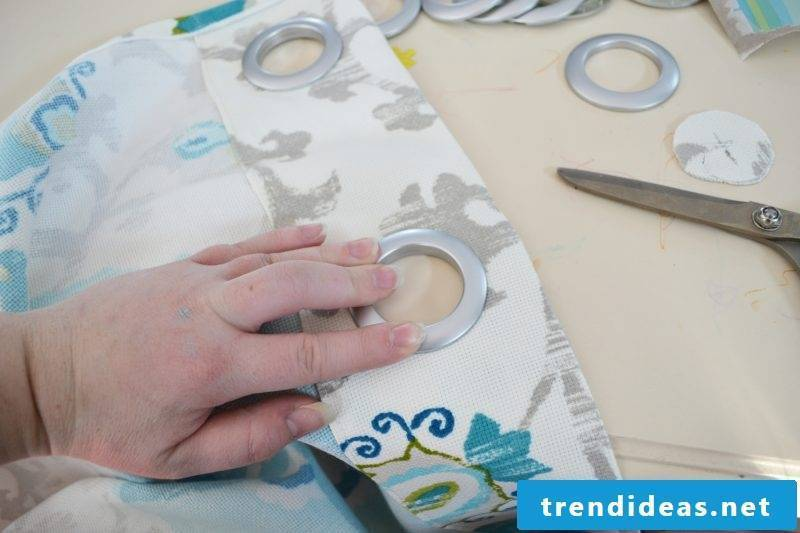 Curtain sew topside