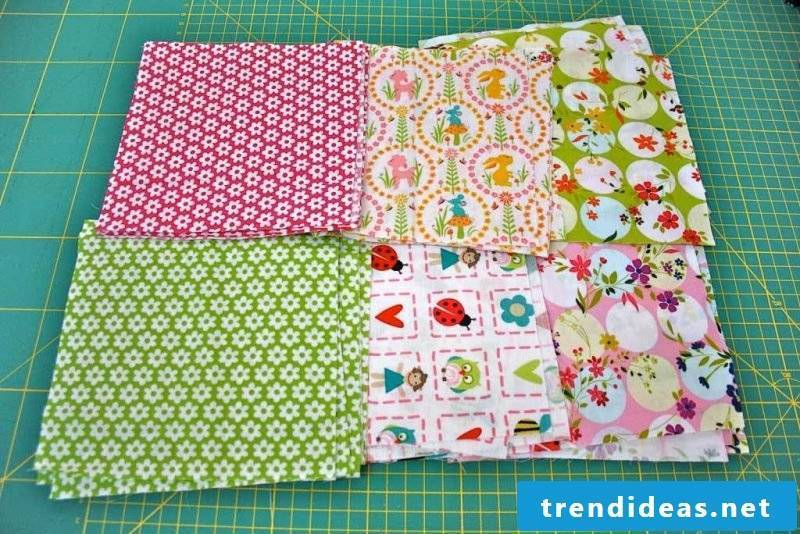 Patchwork blanket sew ideas
