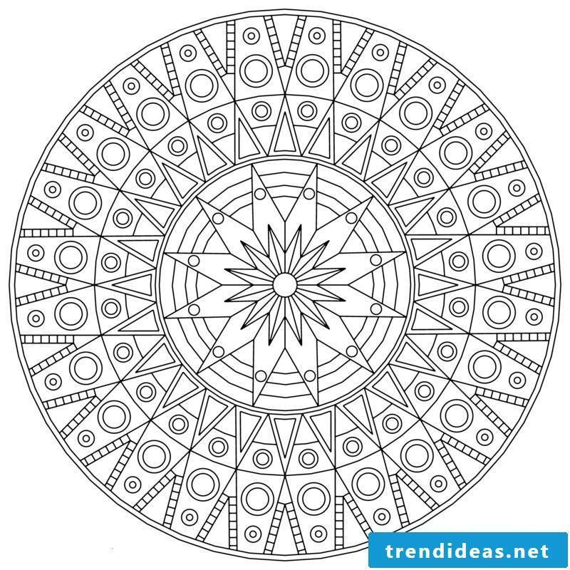 mandala templates As a mirror of the state of one's own psyche