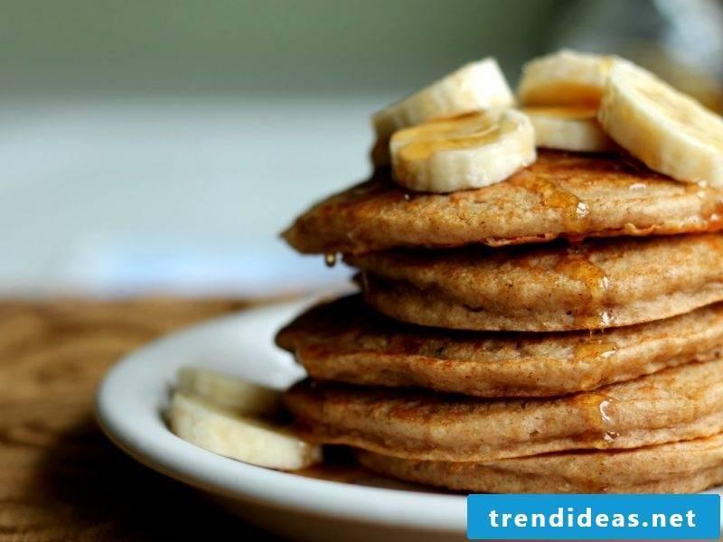 Quinoa breakfast pancakes