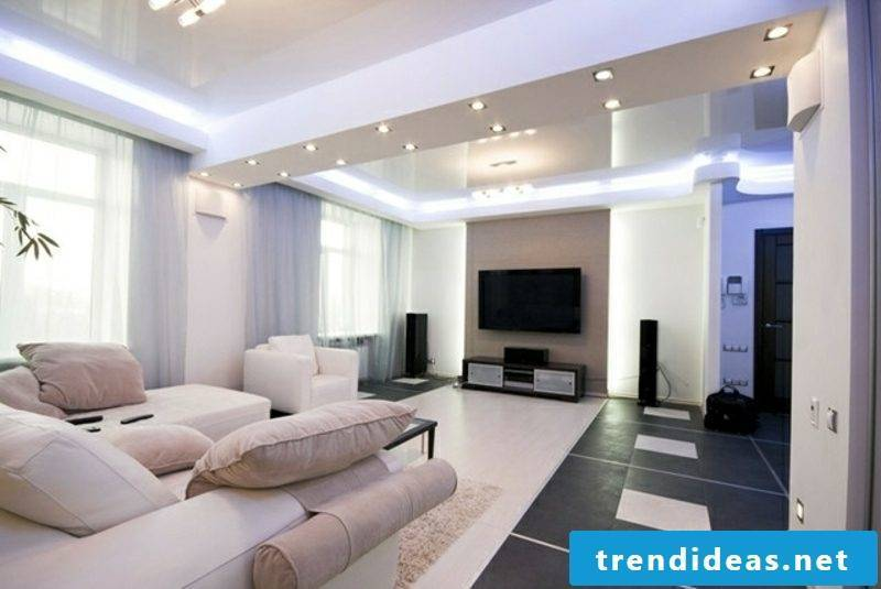 Indirect LED lighting build your own living room