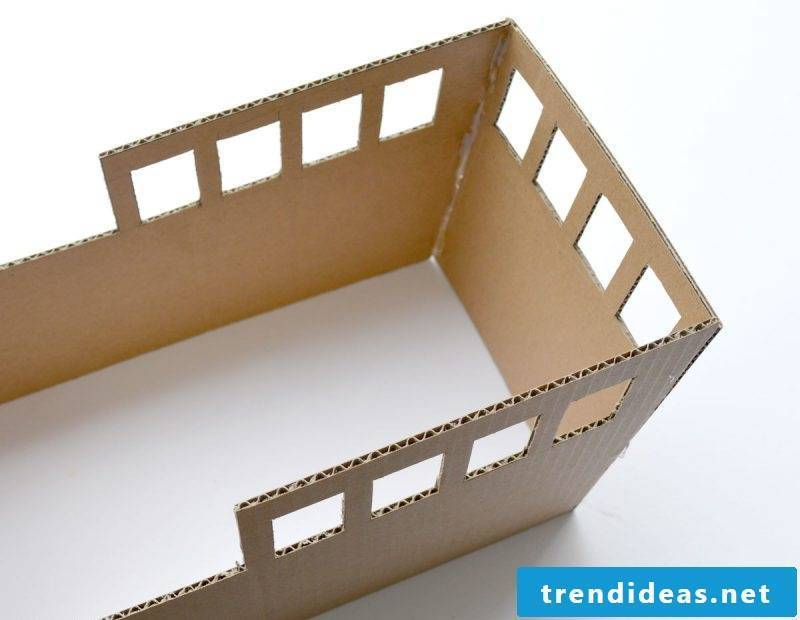 Crafting ideas for children: DIY pirate ship