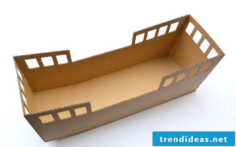 Crafting ideas for children: making toys out of cardboard