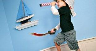 8 craft ideas for children for a pirate party