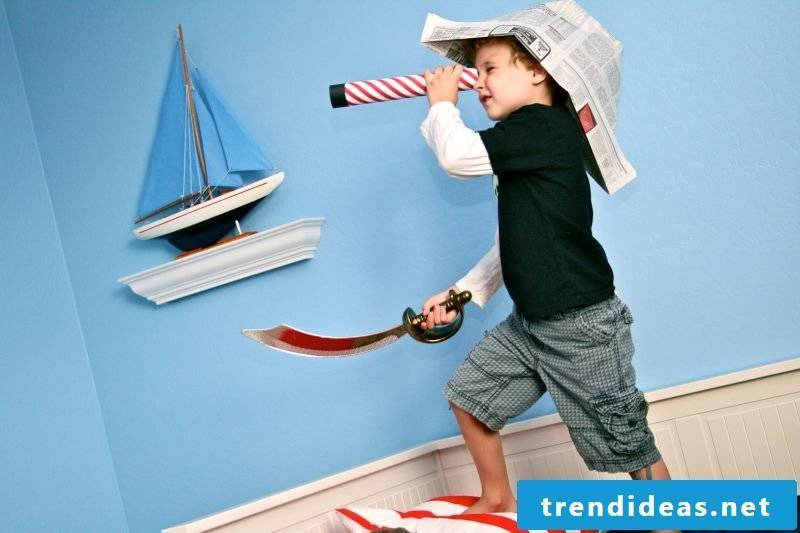 The most important equipment for the perfect pirate party: 5 stunning crafting ideas for children