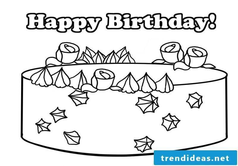 Birthday cake pictures ideas