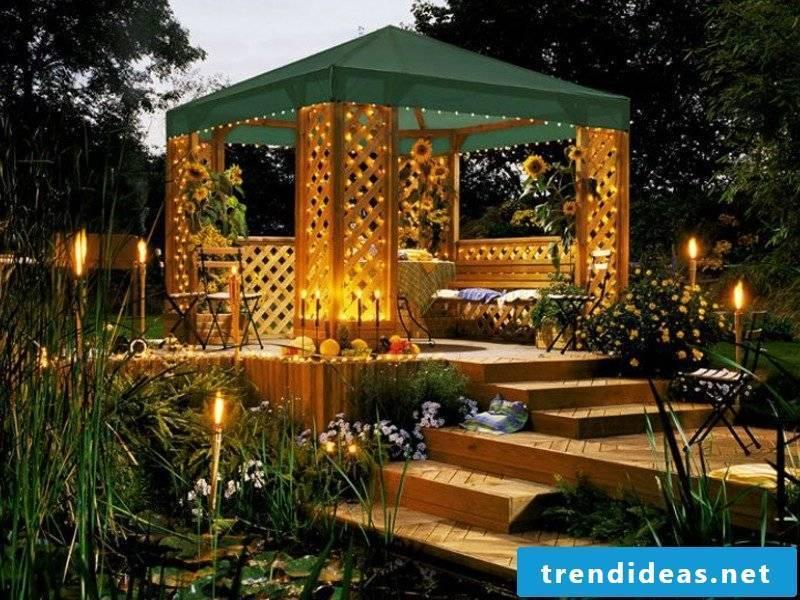 gazebo itself build lush