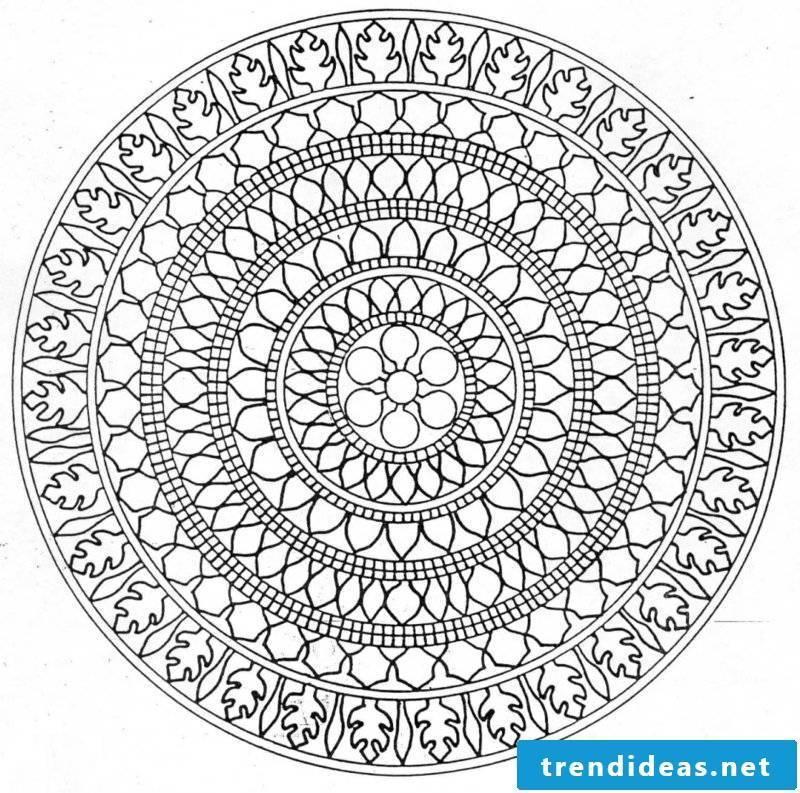 Mandala templates therapy