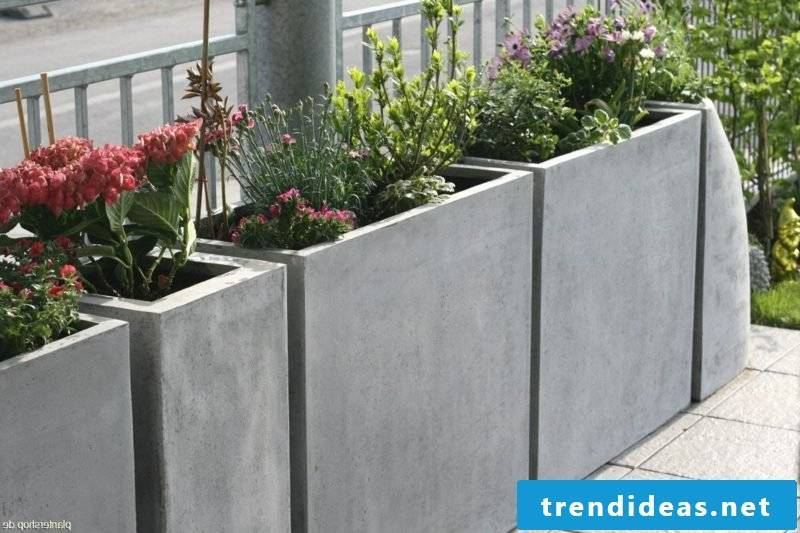 concrete planter ideas