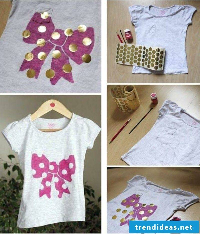 T-shirts self-print instructions