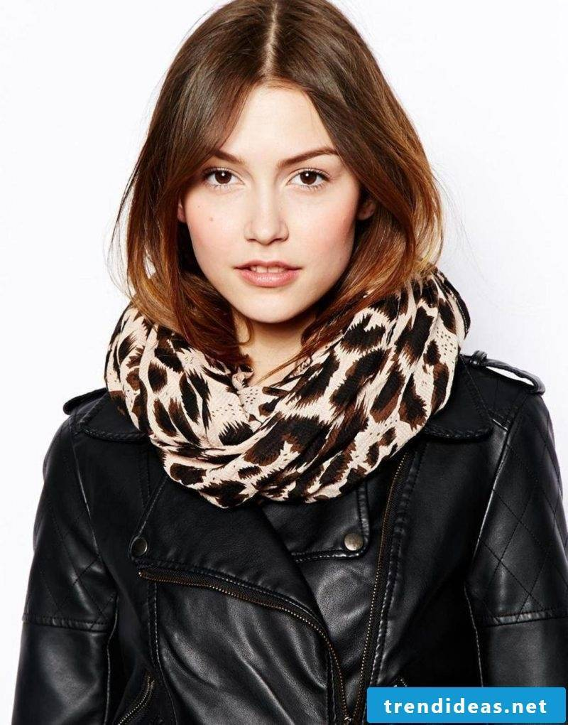 Loop scarf tie idea
