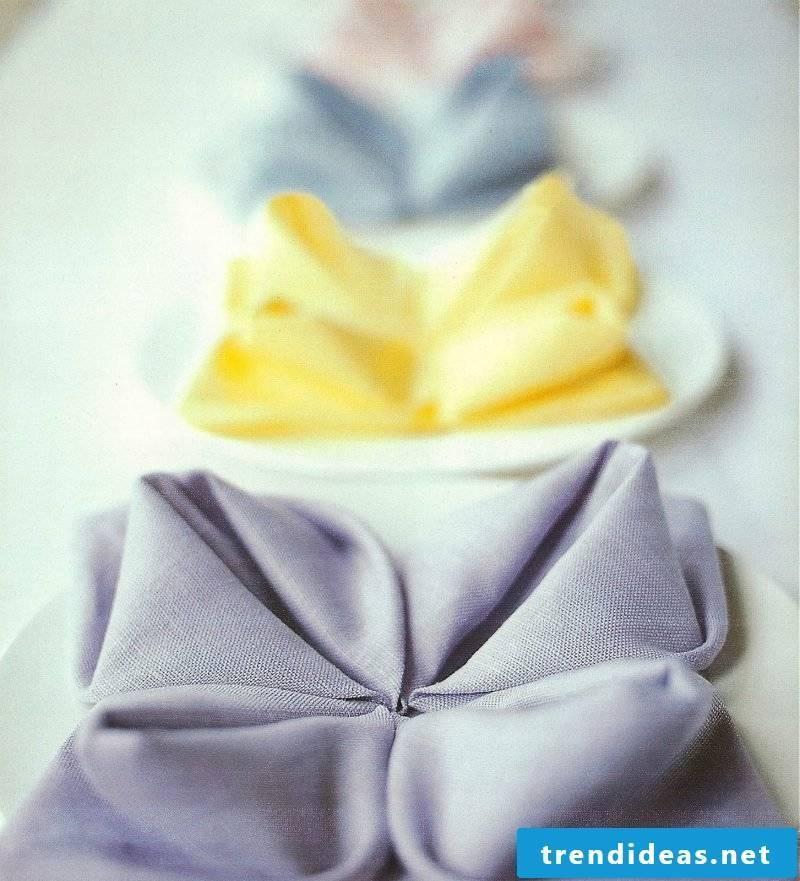 napkin wrinkle seerose ideas