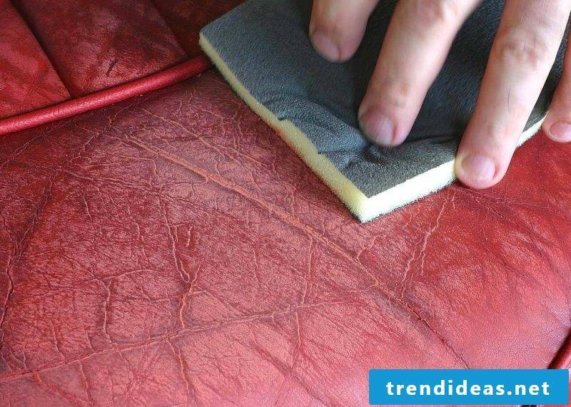 Prepare the leather before dyeing the leather