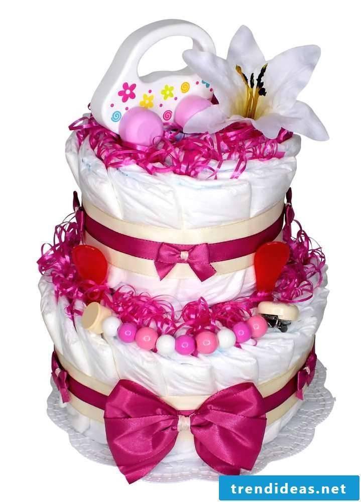 Diaper cake tinker unique