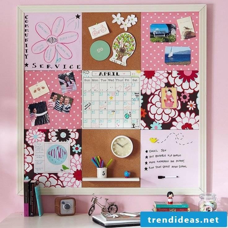 pin board make yourself creative