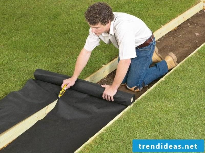 Create gravel garden - instructions step 3