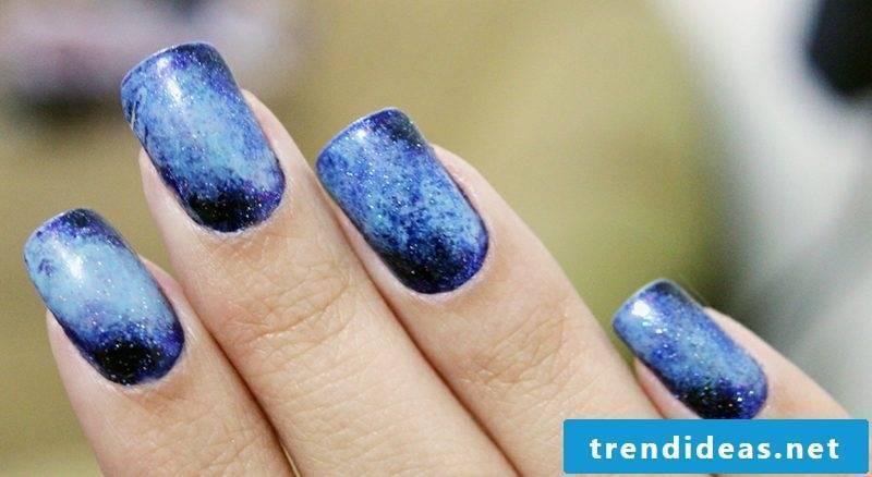 Nail Art Galaxies